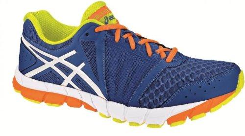 ASICS Gel-Lyte33 2 Scarpa da Running Uomo, Blu/Bianco/Arancione, 47