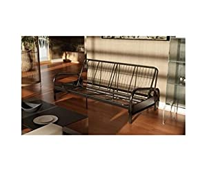 Dorel Home Products Vermont Metal Futon Frame, Black