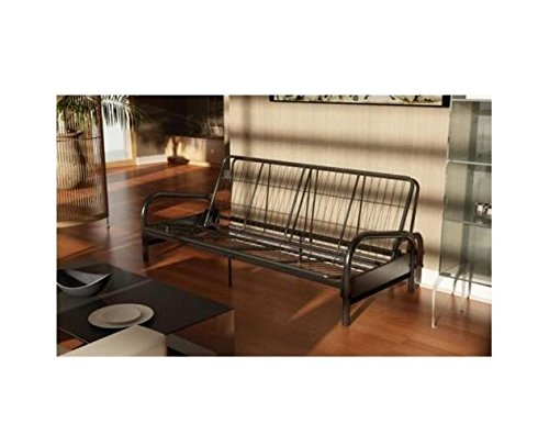 Dorel Home Products Vermont Metal Futon Frame, Black image