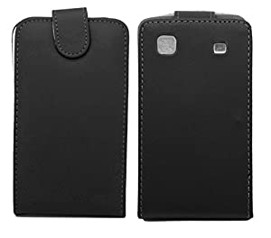 Kolay Leather Flip Case Cover with Screen Protector and Stylus for Galaxy S3 i9300 - Black