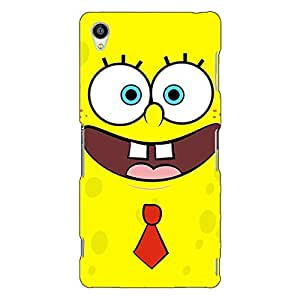 Jugaaduu Spongebob Back Cover Case For Sony Xperia Z3