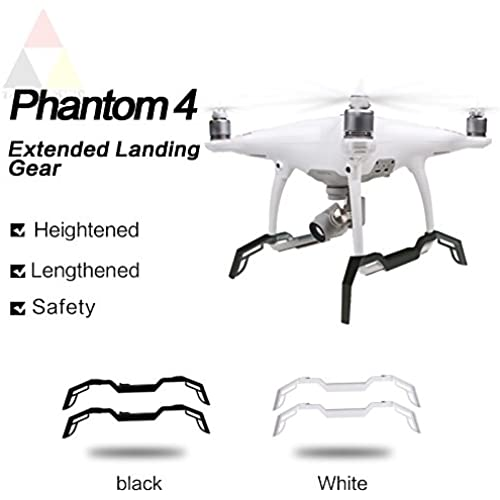 Threeking DJI Phantom 4 용프로텍터 착륙 기어스 키드 Foot rest Alighting gear-