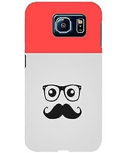 MobileGabbar Samsung Galaxy S6 Back Cover Printed Designer Hard Case