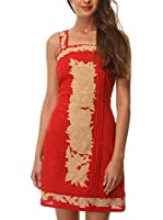 ALMATRICHI Vestido (Rojo)