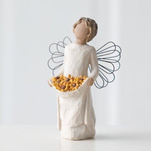 Willow Tree Sunshine Angel Figurine, Susan Lordi 26249