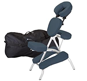 Earthlite Vortex Massage Chair Package (Mystic Blue)