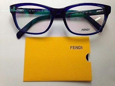 fendi glasses canada  fendi 980 442 blue plastic