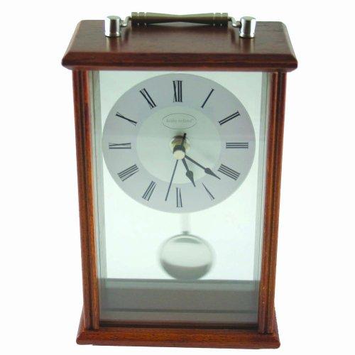 Kathy Ireland Cherry Wood Mantle Clock