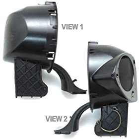 4L3z9927936ba Fuel/Gas Filler Door Housing/Hinge Assembly, Oem Ford