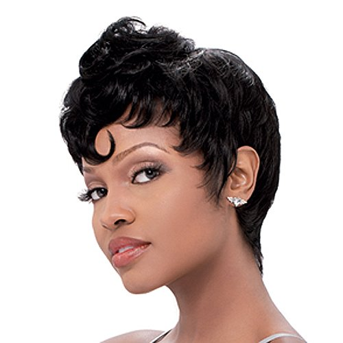 SENSATIONNEL Bump Wig - MOD MOHAWK- Color #2 - Dark Brown