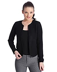 Only Women's Casual Jacket_5712616801913_Black_ Medium