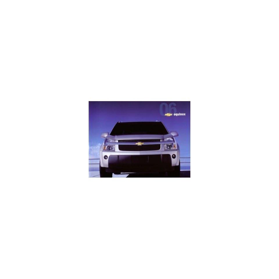 2006 Chevrolet Equinox Sales Brochure Literature Piece Advertisement Options