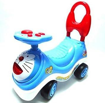 doraemon kids ride on push car with music