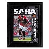 Man United Saha 8 x 6 Framed Print (poster style)
