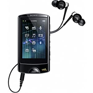 Sony NWZA865B.CEW Lecteur mp4 16 Go Bluetooth USB Noir