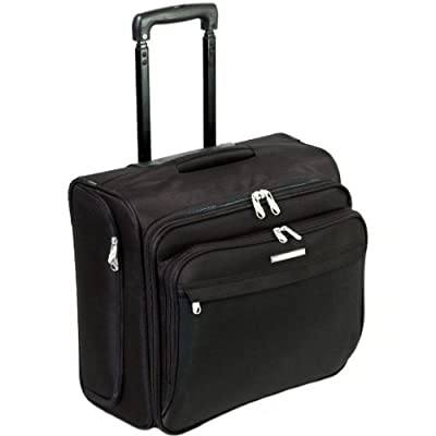Unicorn Larc Wheeled Laptop Case - Fits up to 16'' Laptops (Black) from Unicorn