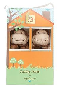 Angel Dear Cuddle Twin , Brown Monkey