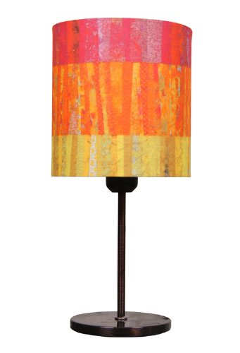 Philips Philips Joy Fabric Shade Table Lamp (Multicolour And Metal) (Multicolor)