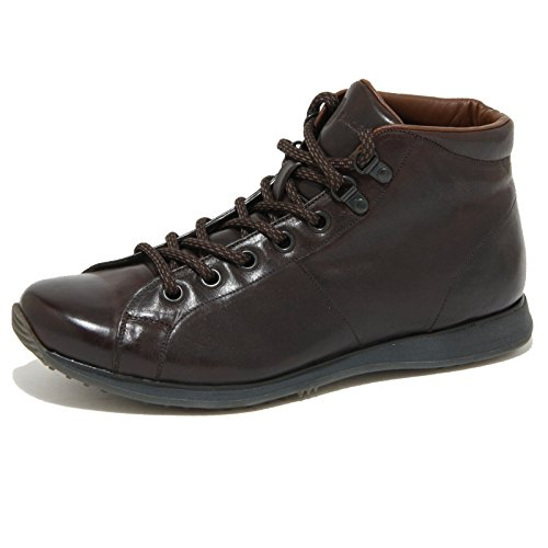 0945O polacchini CAR SHOE marrone stivaletti uomo boots men [9.5]