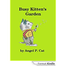Busy Kitten's Garden (English Edition)
