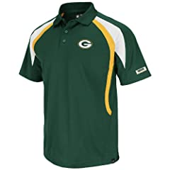 Green Bay Packers Green Field Classic VI Synthetic Polo by VF