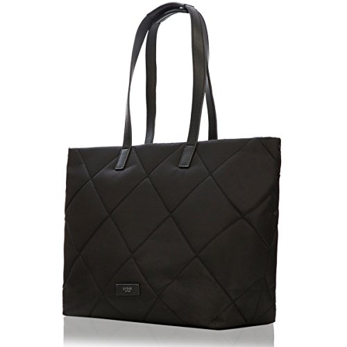 knomo-luggage-paddington-porchester-zip-top-tote-15-inch-black-one-size