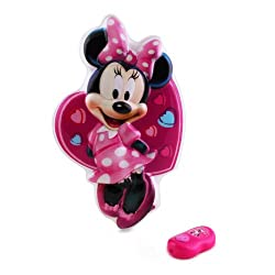 [Best price] Kids&#039 - Uncle Milton Wall Friends Minnie Mouse, Talking Room Light - toys-games