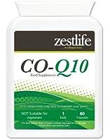 Co-enzyme Q10 (CoQ10) 300mg Capsules haute absorption. Co Q10 suppléments ont montré les avantages les plus définitives dans le traitement de l'hypertension, ou tension artérielle   gens souffrant d'hypertension artérielle ont été montré pour avoir moins de CoQ10 que la normale, (Source: Mayo Clinic).