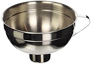 Kitchen Craft Jam Funnel, Stainless Steel