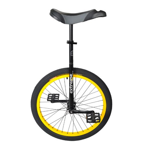 Sun Flat Top Extreme Dx Unicycle 20 Quot Flat Black Leather