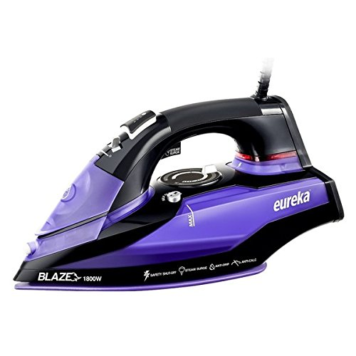 Eureka Blaze Original 1,800-watt Iron with Powerful Steam Surge Technology and Purple Storage Pouch (Shark G1468 Iron compare prices)