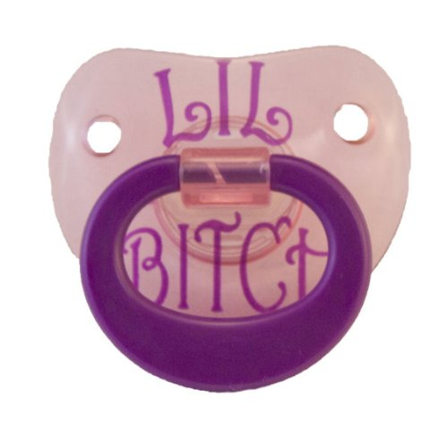 """""""Dollar Days"""" Original Billy Bob Teeth Baby'S Funny Pacifiers 10 For $10 (Lil Bitch) front-552279"""