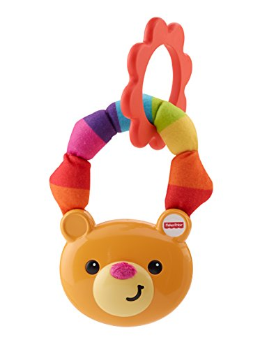 Fisher-Price Soft Touch Rattle, Bear