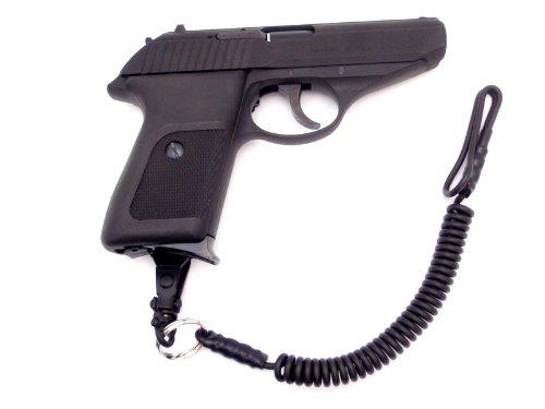 【4点セット】 KSC P230JP HW ガスガン + ホルスター + ランヤード + スペアマガジン 日本警察拳銃