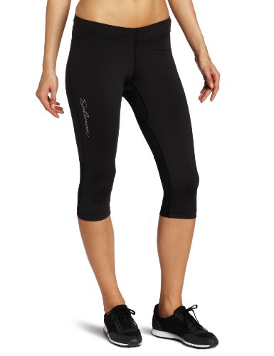 SALOMON - Pantaloni sportivi a tre quarti da donna Trail IV 3/4 Tight, Nero (nero), XS