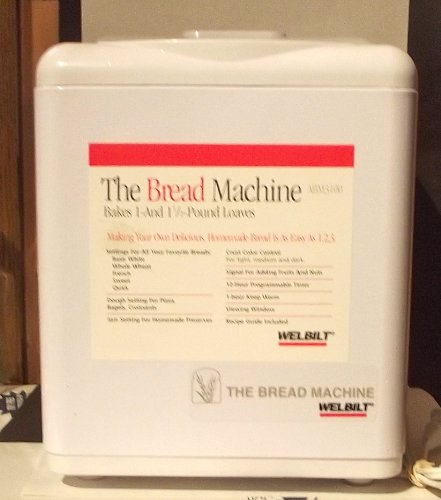 WELBILT BREAD MAKING MACHINE - MODEL No. ABM3100 - BAKES 1 & 1-1/2 lb LOAVES (Welbilt Bread Machine compare prices)