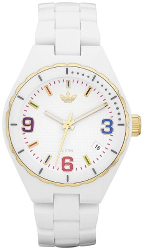 Adidas Women's Cambridge ADH2694 White Plastic Quartz Watch with White Dial
