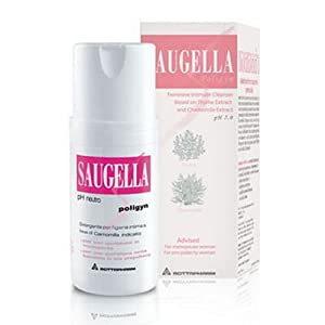 Saugella Poligyn pH 7.0 Soothing Effect for Intimate Hygiene of Women Menopause 100ml. - Pack 2