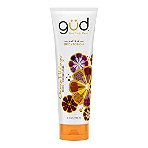 Gud Orange Petalooza Natural Body Lotion, Orange, 8 Fluid Ounce