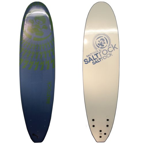 Saltrock Wallop Soft Surfboard - Blue, 7ft