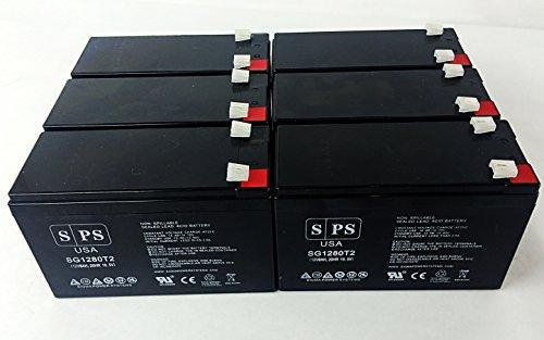 Ge Digital Energy Ep 1000 T, Ep 1000 R 12V 8Ah Ups Battery ( 6 Pack)