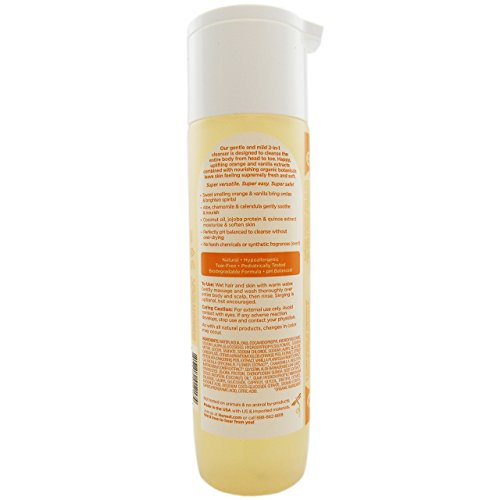 The Honest Company Shampoo & Body Wash, Sweet Orange Vanilla, 10 Fluid Ounce