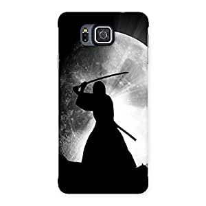 Moon Warrior Back Case Cover for Galaxy Alpha