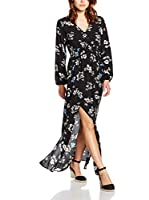 Glamorous Vestido (Negro / Cielo)