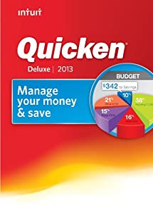 Quicken Deluxe 2013 [Download] [OLD VERSION]