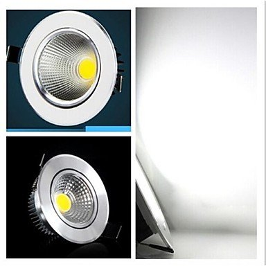Rayshop - 5W 400-500Lm 6000-6500K Cool White Color Cob Led Panel Lights Led Ceiling Lights(85-265V)