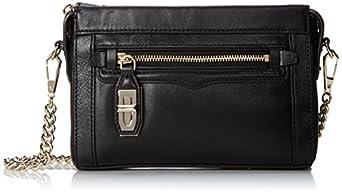 Rebecca Minkoff Mini Crosby Cross Body Bag, Black, One Size