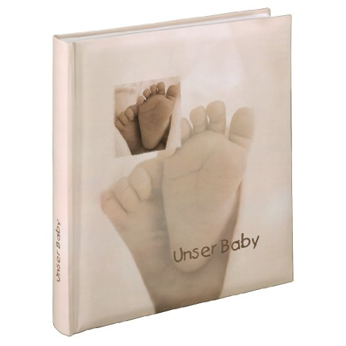 hama-babyalbum-baby-feel-fotoalbum-mit-29-x-32-cm-60-seiten-60-blatt-300-fotos-sand