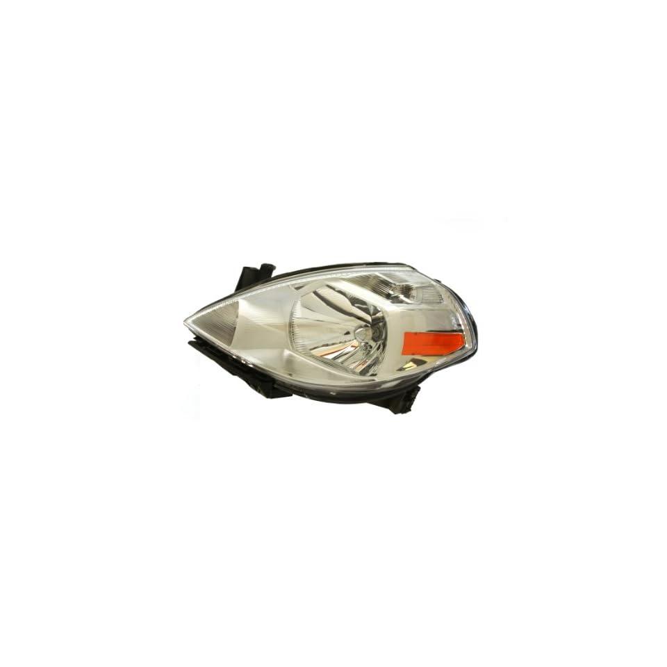 Genuine Nissan Parts 26060 EM30A Driver Side Headlight Assembly Composite