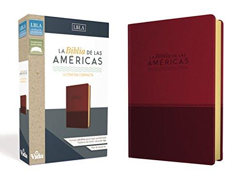 La Biblia de las Americas LBLA, Ultrafina Compacta, Leathersoft  [La Biblia de las Americas  LBLA] (Tapa Dura)